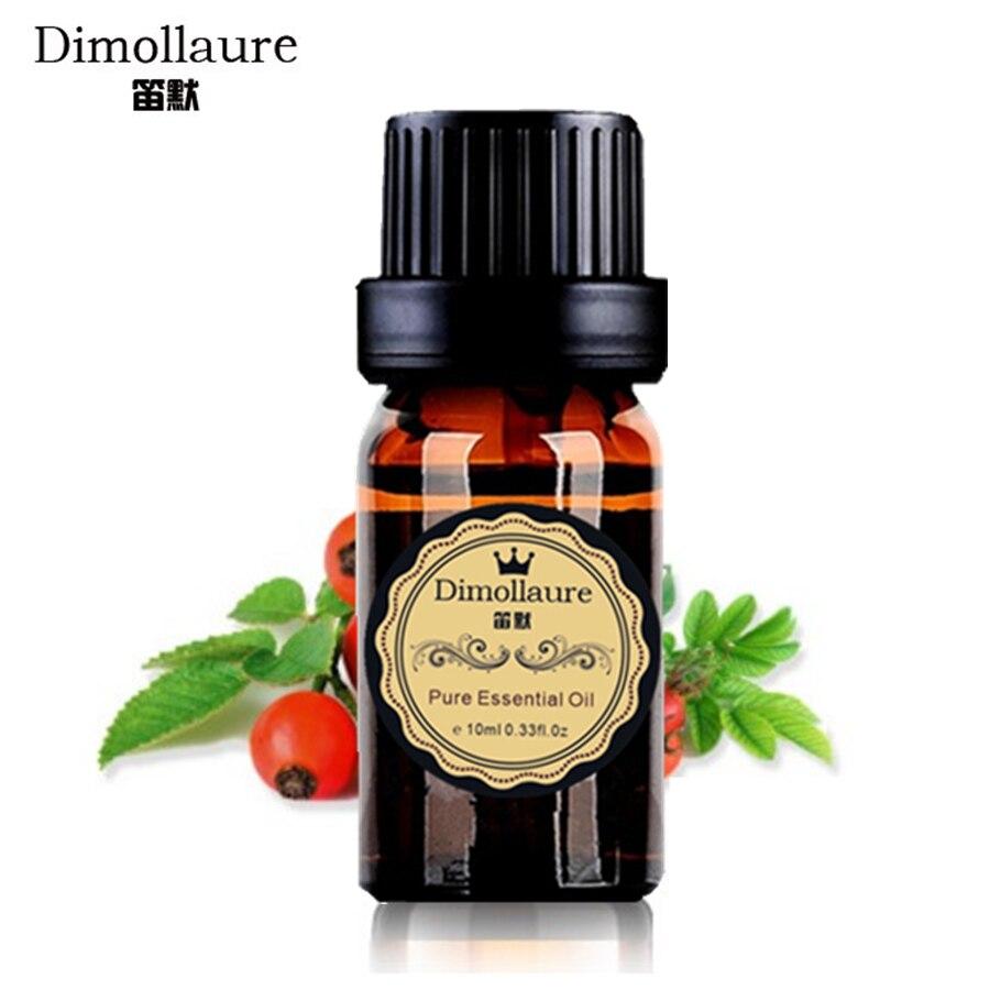 Dimollaure Pur huile de Rose Musquée Bio 10 ml blanchiment Hydratant Anti-Vieillissement Rose hip huile essentielle soins de la peau De Massage cheveux soins