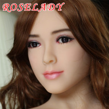 NEW 158cm Top quality full silicone sex doll for men, oral japanese realistic dolls, lifelike love doll, vagina real pussy