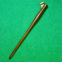 Rosewood and Pockwood English Copperplate Script Antique Dip Pen Holder Oblique Calligraphy Pen Holder with Adjustable Flange