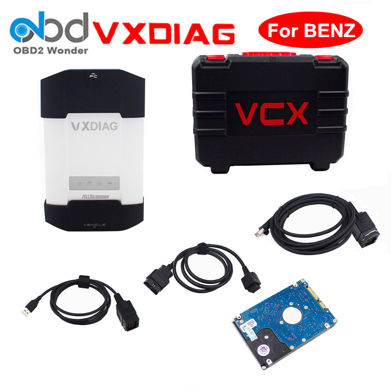 2017 new allscanner vxdiag multi diagnostic tool for benz for Mercedes benz star diagnostic tool