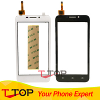 For Huawei Y541 Y5 Y5c Y541 U02 Touch Screen Digitizer Front Glass Len 1PC Lot