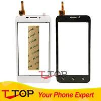 For Huawei Y541 Y5 Y5c Y541 U02 Touch Screen Digitizer Front Glass Len 1PC Lot