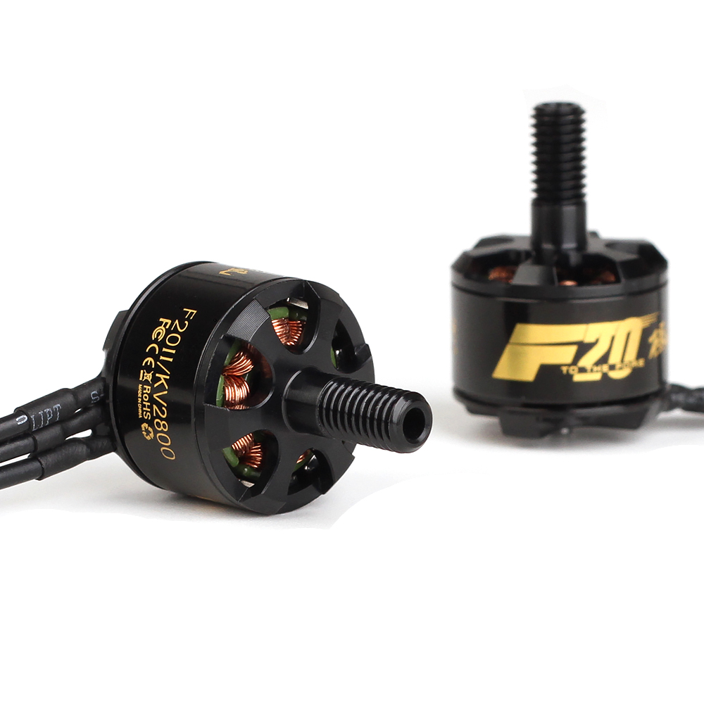 T-Motor F20II F20 II 1408 2800KV Brushless Motor For 130 140 RC Drone FPV Racing Propeller Frame DIY Spare Part Accessories ldarc 200gt part xt1806 1806 2500kv 3 4s brushless motor black silver for rc multicopter drone fpv racing spare part accessories