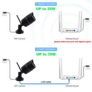 Image 2 - CamHi WIFI IP güvenlik kamerası ses kaydı 1080P 960P 720P ağ 2.0MP kablosuz kamera Onvif su geçirmez IP kamera TF kart depolama