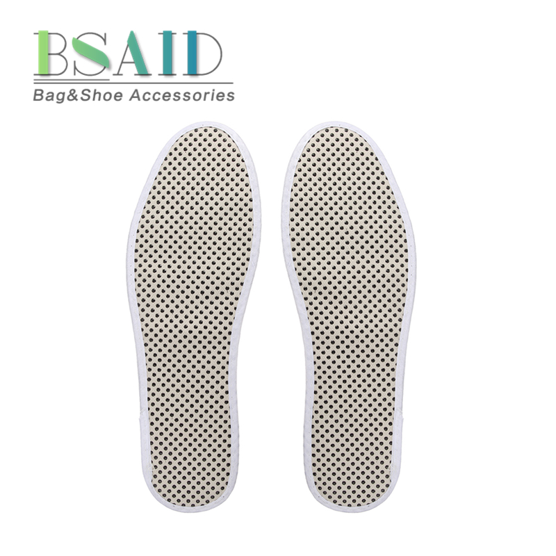 1 Pair Tourmaline Self Heated Insoles, Heated Magnetic Balls Foot Massage Insole Far Infrared Warm Shoe Pad Rays Foot Cushion