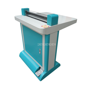KC-C530 Size A3 Professional Paper Folding Album Pneumatic Creasing Machine Indentation Album Pleating Machine Max Width 530mm