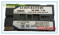 Hohe qualität Für Batterie Ersatz Für LB220 Infrarot Thermische Imager Standing Wave Verhältnis batterie-in Akku-Packs aus Verbraucherelektronik bei