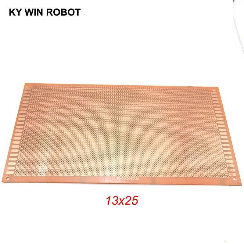 1PCS DIY 13*25cm Prototype Paper Copper PCB Universal Experiment Matrix Circuit Board 13x25cm