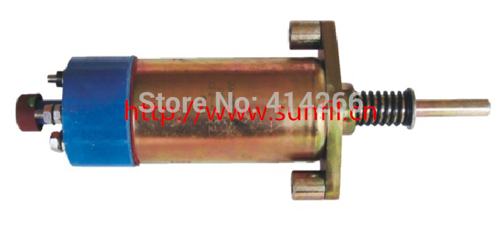 Wholesale 155-4653 Fuel Shutdown Solenoid Valve for Engine+fast&cheap shipping,24V free shipping hp 2530 8