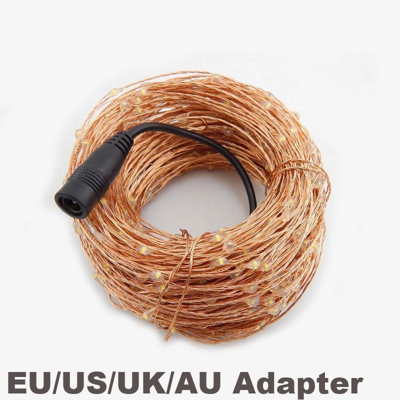 10M 100 font b LED b font Copper Wire font b String b font Starry Light