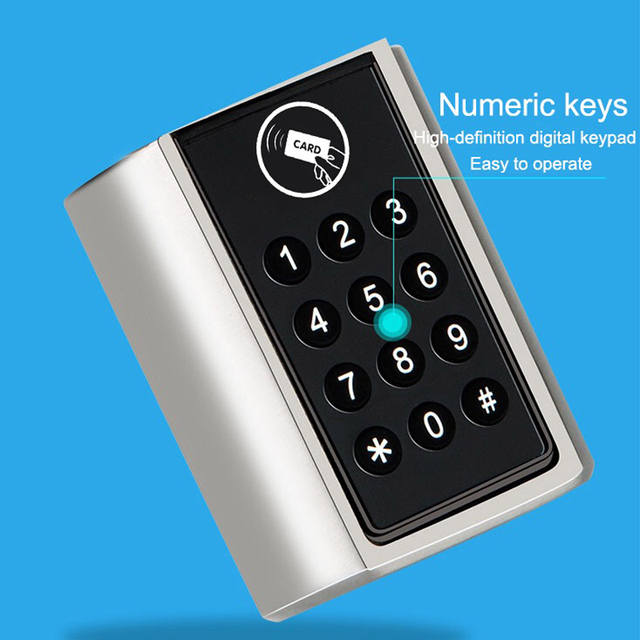 L5PC-Plus door cylinder lock Smart Home Code Door Lock Cylinder Bluetooth Electronic Door Lock Cylinder Unlock by Code Card, App