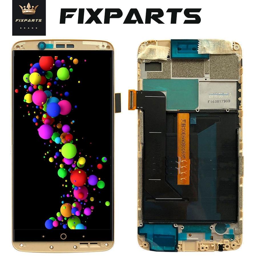 AMOLED Écran Pour ZTE Axon7 Axon 7 LCD A2017 A2017U A2017G Affichage Écran Tactile Digitizer Aseembly Remplacement Pour ZTE A2017 LCD