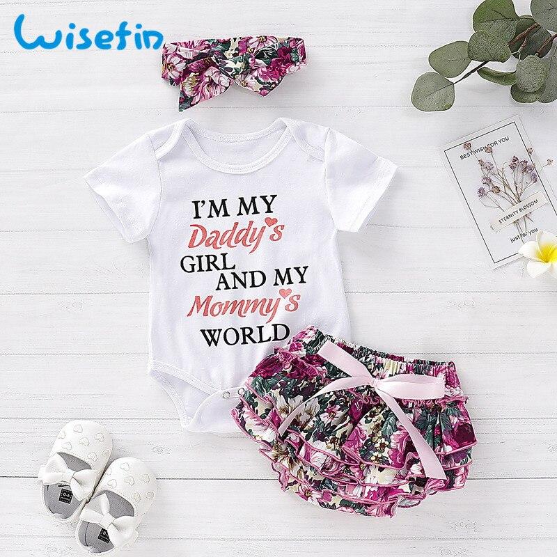 Baby Girl Clothes Summer Set 2Pcs Top+Bib Skirt Newborn Outfits