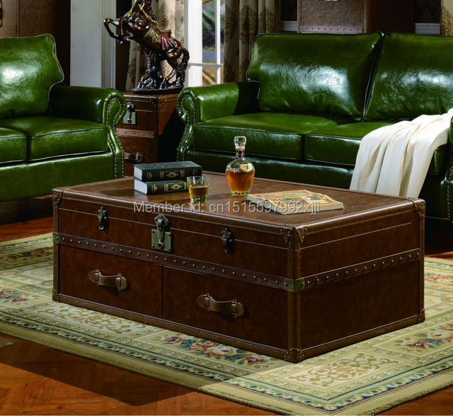 Wood Coffee Table Limited No Muebles Mesa De Centro American Country Style Tea Antique Furniture New Model X019a