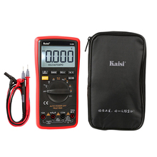 Kaisi Professional Multimeter LCD Digital Capacitance Table Handheld High Precise Capacitance Measurement Instrument Home Tools