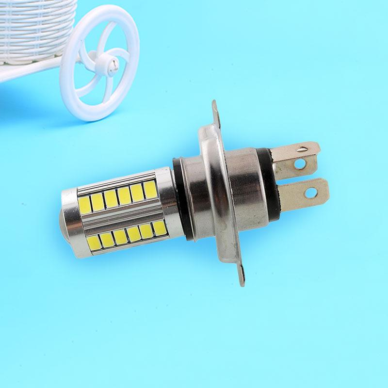 H4 SMD5630 LED White Auto Car Fog Driving Light Headlight Light Bulb Lamp 12V