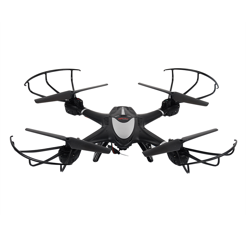 New Arrival MJX X401H WIFI FPV 0.3MP HD Camera Drone RC Quadcopter Altitude Hold 3D Flip Helicopter RTF-Black jjrc h12wh wifi fpv with 2mp camera headless mode air press altitude hold rc quadcopter rtf 2 4ghz