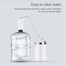 Mini USB Automatic Electric Water Pump Dispenser  Portable Gallon Drinking Bottle Switch for Home Office Travel все цены