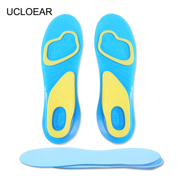 c914a19791 Free Size Silicone Insoles Foot Care for Plantar Fasciitis Heel Spur Running  Sport Insole Shock Absorption Pad for Men and Women