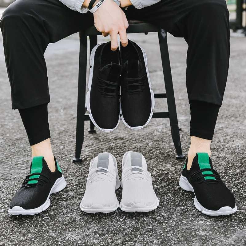 WENYUJH 2018 Mannen Vulcaniseer Schoenen Casual Comfort Sneakers slijtvaste antislip Mannelijke Footwears Plus Size tenis masculino