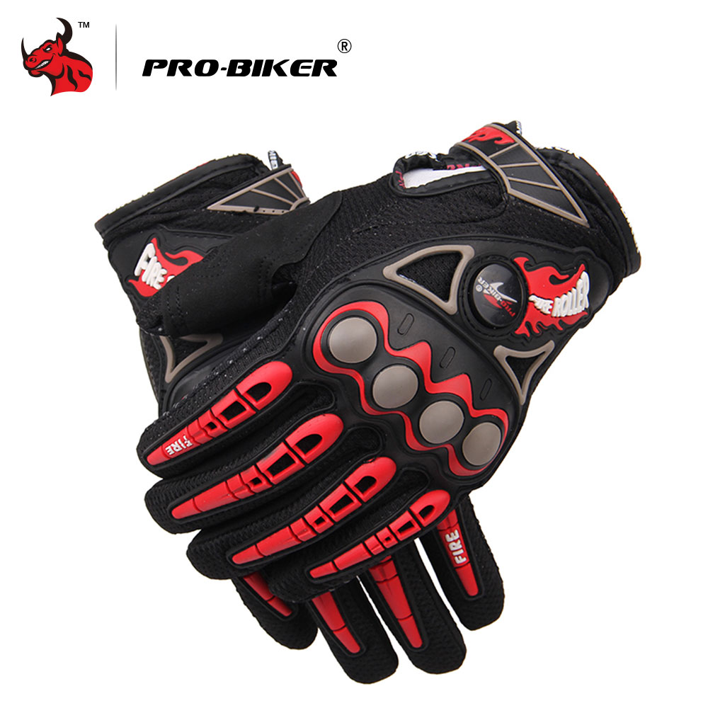 цена на PRO-BIKER Motorcycle Gloves Luvas Da Motocicleta Motorcycle Racing Gloves Motocross Off-Road Enduro Full Finger Moto Gloves