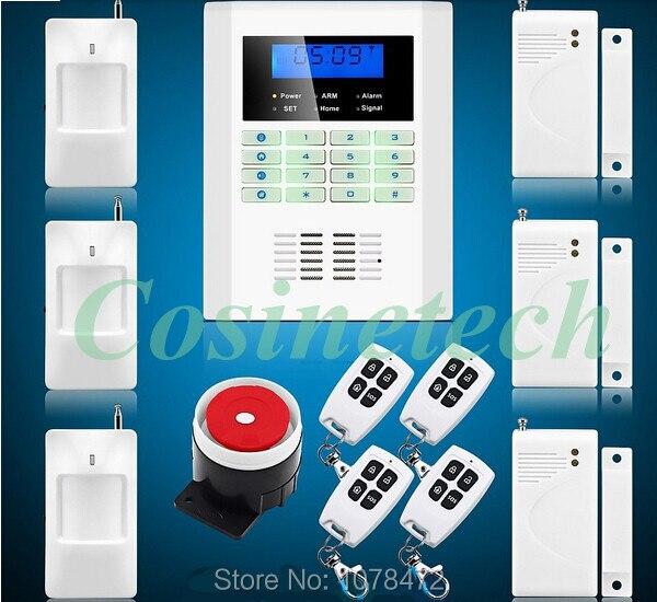 ФОТО 101 defense zones DIY  Voice remote control alarm kit Intelligent functional  GSM850/900/1800/1900MHz SMS PSTN Alarm System