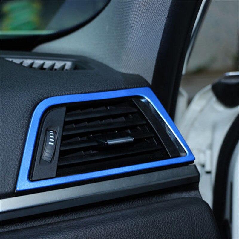 1 pcs Air Condition Vent Trim Decoration For 3 SERIES 318Li 320Li 330i 340Li 3GT Interior car sticter styling Car Accessories