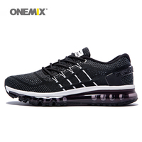 Onemix men's running shoes cool light breathable sport shoes for men sneakers for outdoor jogging walking shoe big size 39 47