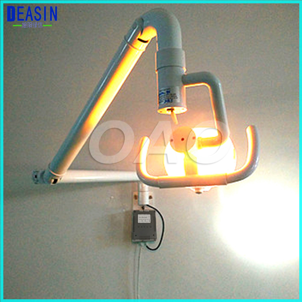 Dental Wall anging Medical Surgical Oral Lamp Shadowless Cold Light with Arm цена