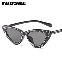 YOOSKE Luxury Cat Eye Sunglasses Women R