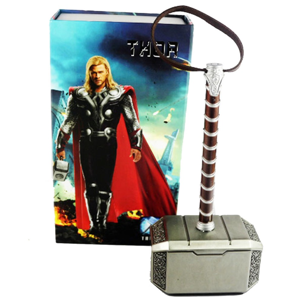 Movie Anime The MOVIE Thor Hammer Alloy Cosplay Free Shipping