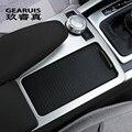 Автомобильный Стайлинг  внутренние кнопки  декоративная панель  накладка  наклейка  Накладка для Mercedes Benz C class W204 2008-10 LHD RHD  автомобильные акс...
