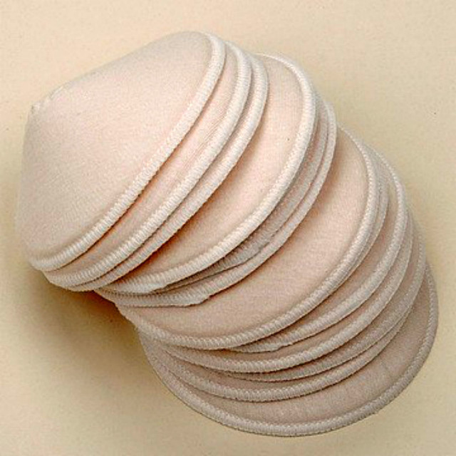 18Pcs High quality Washable nursing pads with Super Absorbency