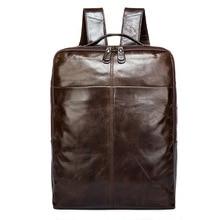 9081 wholesale font b leather b font man bag male layer cowhide font b backpack b