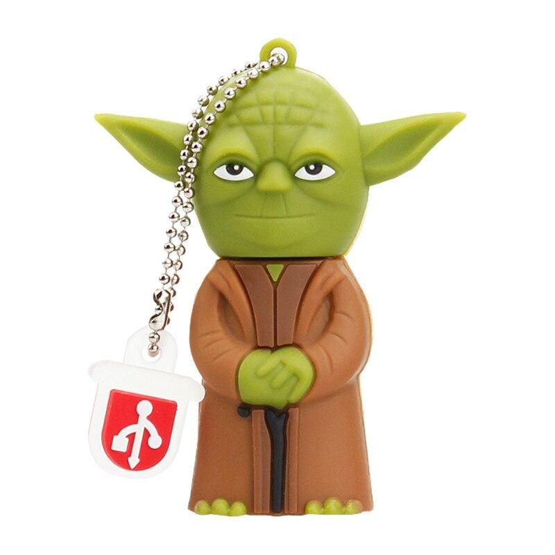 Image 4 - Classic Cartoon USB Flash Drive 4GB 8GB 16GB Pen Drive 32GB 64GB 128GB USB Stick Star Wars Robot All Styles Pendriver Best Gift-in USB Flash Drives from Computer & Office