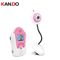 baby monitor Night vision 1.8 LCD display baby care camera monitor wireless monitor wireless kits 2.4G wireless camera
