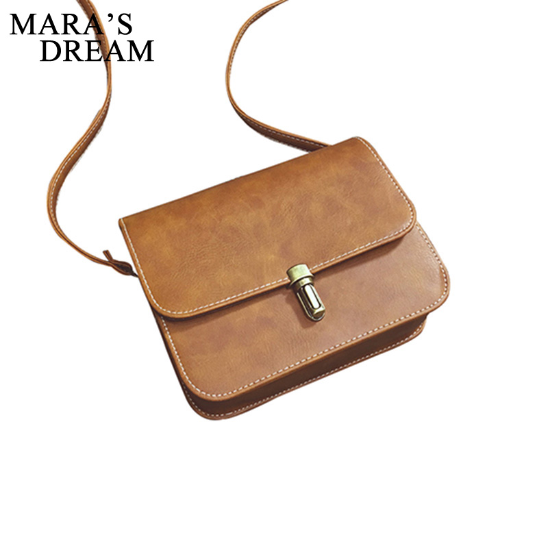 Mara's Dream Women Small Crossbody Bag Female Vintage Flap Shoulder Messenger Handbag Girls Purse Pouch new arrival vintage women handbag genuine leather purse female small bag messenger crossbody bag hand painted women shoulder bag