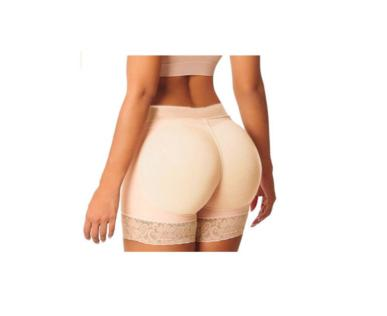 NEW Women's Ladies Pantie Push Up Hip High Waist Elastic Padded Panty Safety Underwear Skinny Boyshort