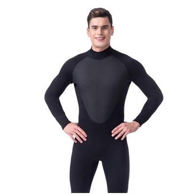 Men 3MM Neoprene Wetsuit Snorkeling Surf One Piece Full Body Spearfishing Jumpsuits Diving Suit Sport Swim Bathing Beach Suit