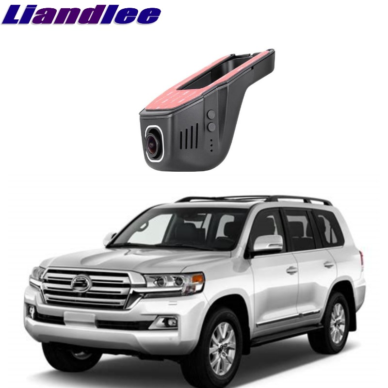 Liandlee Voor Toyota Land Cruiser J200 2007 ~ 2018 Auto Road Record Wifi Dvr Dash Camera Driving Video Recorder