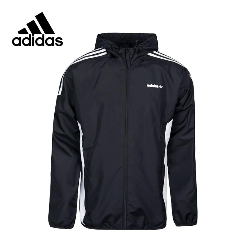 New Arrival Official Adidas Originals CLR84 WB Men's Woven jacket Hooded Sportswear original new arrival official adidas originals 3striped wb men s jacket hooded sportswear