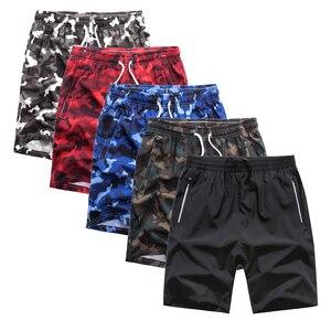 Image 3 - Pantalones cortos de camuflaje para hombre, bañador masculino de talla grande, 5 uds., 8XL, Bermudas, ropa de playa, 1299