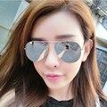 FONEX Brand  classics  stylist  Men & Women Sunglasses New Fashion Mirrored Lens UV Protection Eyewear Female Pilots Sun Glasses
