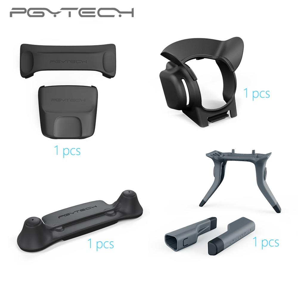 PGYTECH-4pcs-Set-Remote-Control-Guard-Lens-Hood-Landing-Gear-Leg-Propeller-Motor-Hood-For-DJI