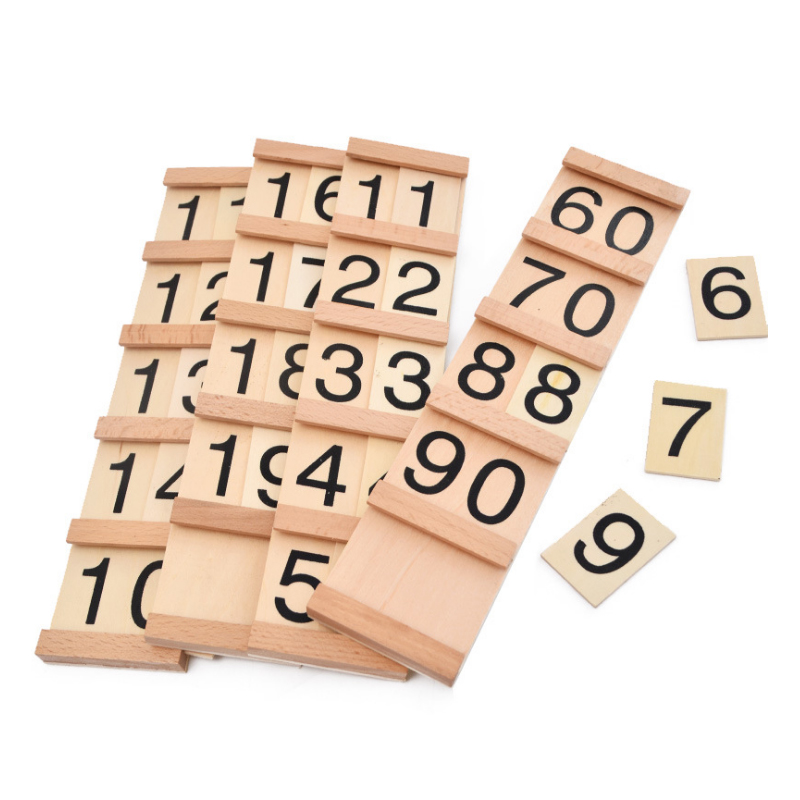 Montessori Teaching Math Toys Teens and Tens Seguin Board with Beads Bars Wood Toys Early Childhood Education Preschool TrainingMontessori Teaching Math Toys Teens and Tens Seguin Board with Beads Bars Wood Toys Early Childhood Education Preschool Training