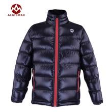 b6fde251ed7 Aegismax Outdoor Sports Jacket Goose Down Jacket Ultra Light 95% Goose Down  Hooded Jackets Long