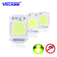 Vacamm экологический светодиодный светильник от комаров, COB чип, уличные Антимоскитные лампы без запаха, ловушка для комаров 20 Вт 30 Вт 50 Вт