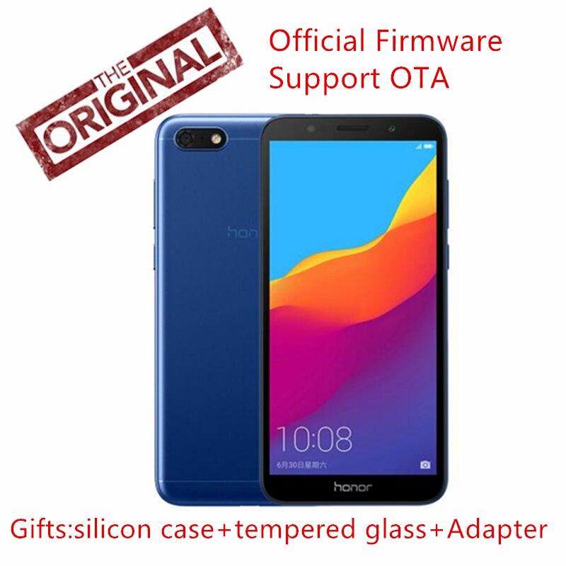 Оригинальный Huawei Honor 7 play 2 г 16 г 4G четырехъядерный LTE 5,45 дюймов 1440*720 P 5.0MP 13.0MP Android 8,1 официальной прошивки мобильного телефона