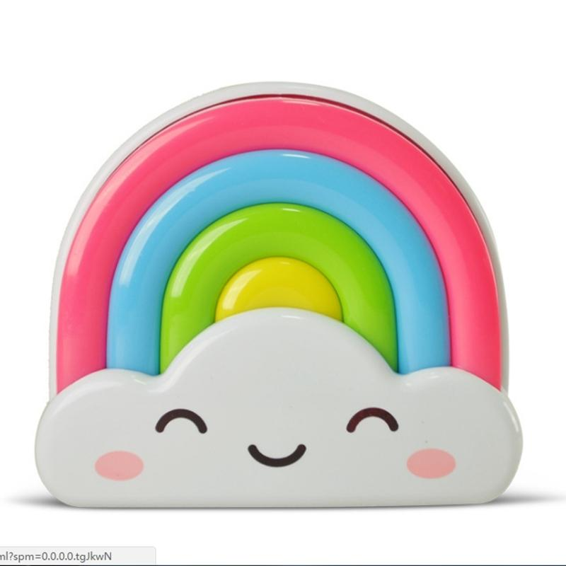 LumiParty Light/Sound/Remote Control Baby Night Light Rainbow Toddler Nightlight for Kids Sensor Home Decor LED Night Lights jk3 салатник luminarc fresh garden  цвет