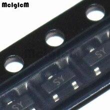 MCIGICM 100 шт 2SA1162 SOT-23 Транс PNP 50 в 0.15A S-MINI